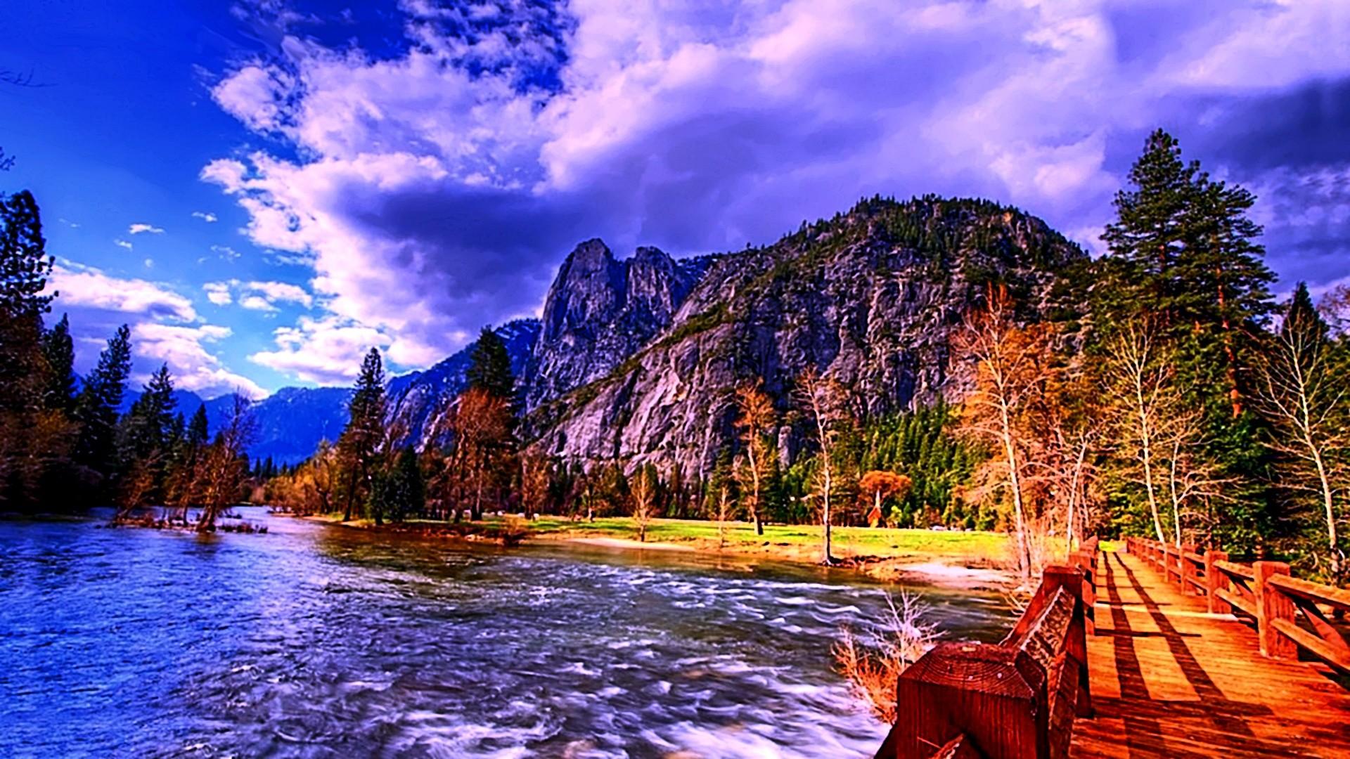 nature wallpaper hd,natural landscape,nature,sky,reflection,wilderness