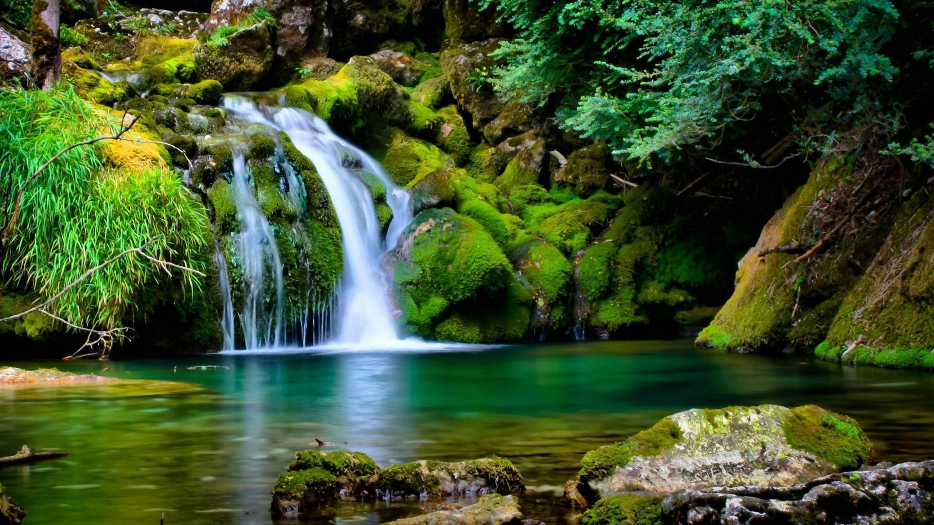 nature wallpaper hd,body of water,water resources,natural landscape,waterfall,nature