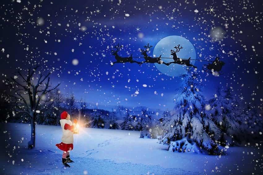 christmas wallpaper,winter,snow,sky,christmas eve,atmosphere