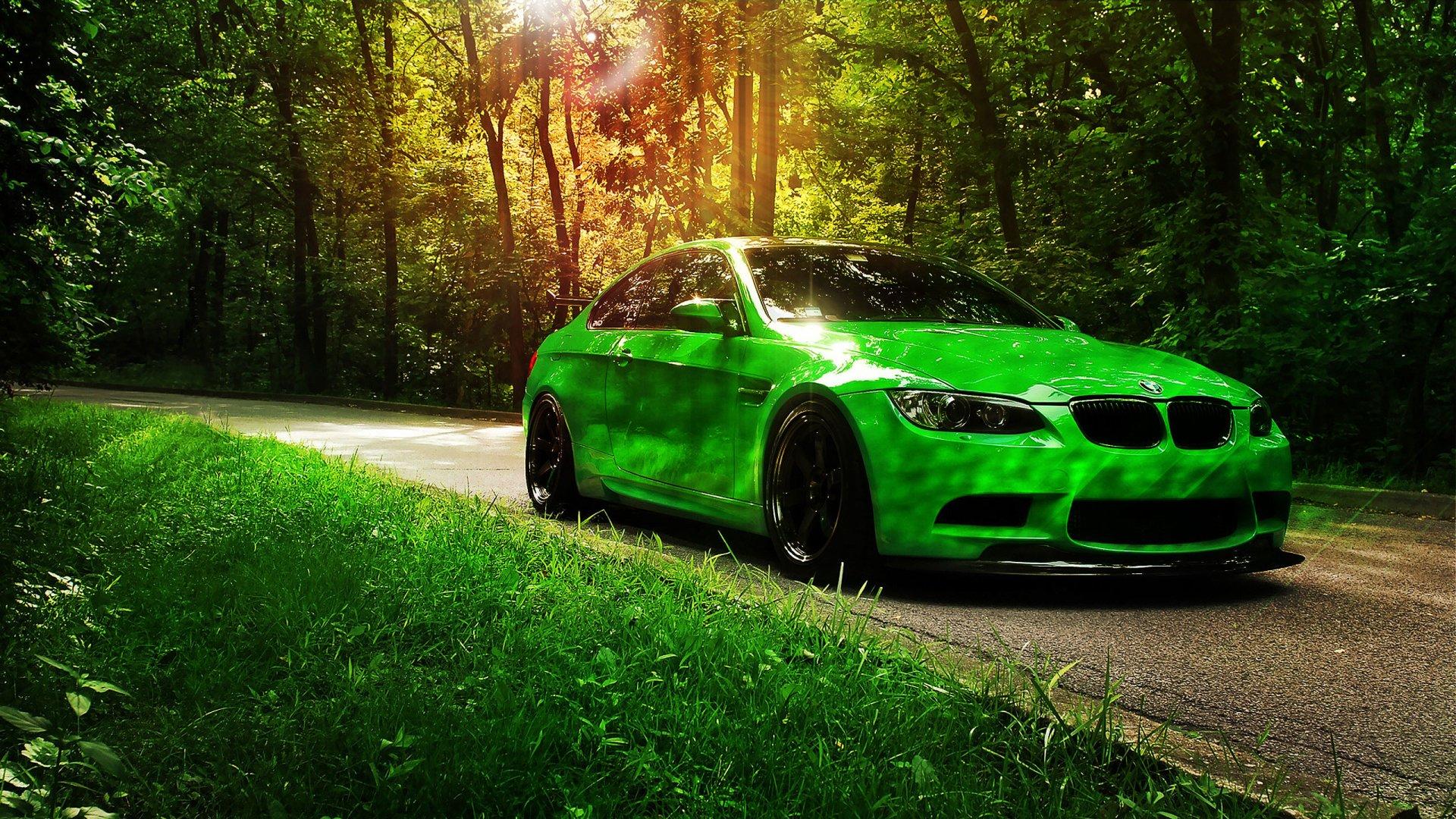car wallpaper,green,vehicle,car,automotive design,bmw
