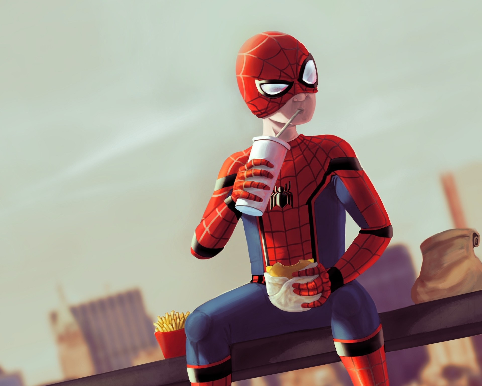 wallpapers and backgrounds,red,fictional character,superhero,cartoon,action figure
