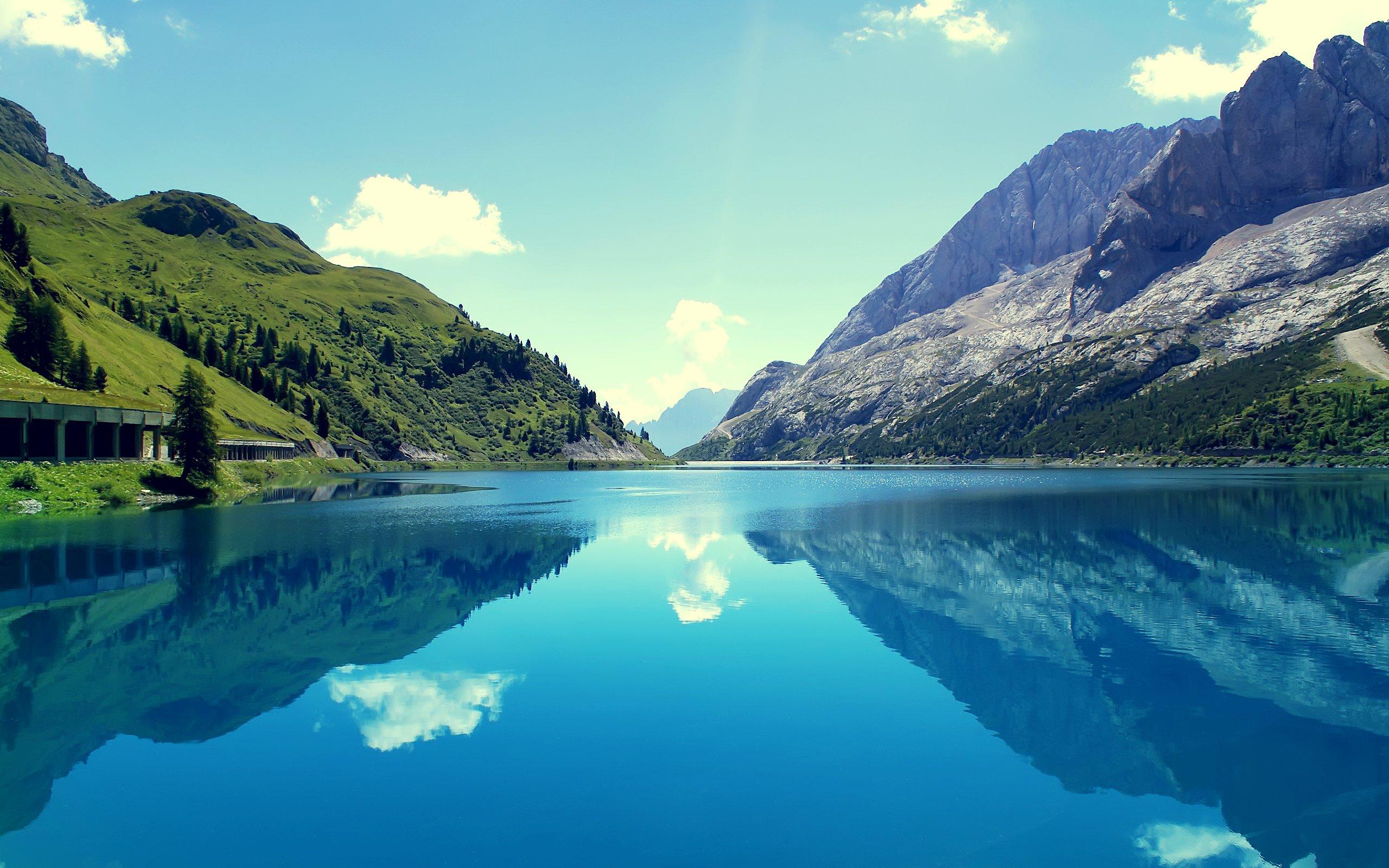 nature wallpaper,body of water,natural landscape,nature,reflection,mountainous landforms