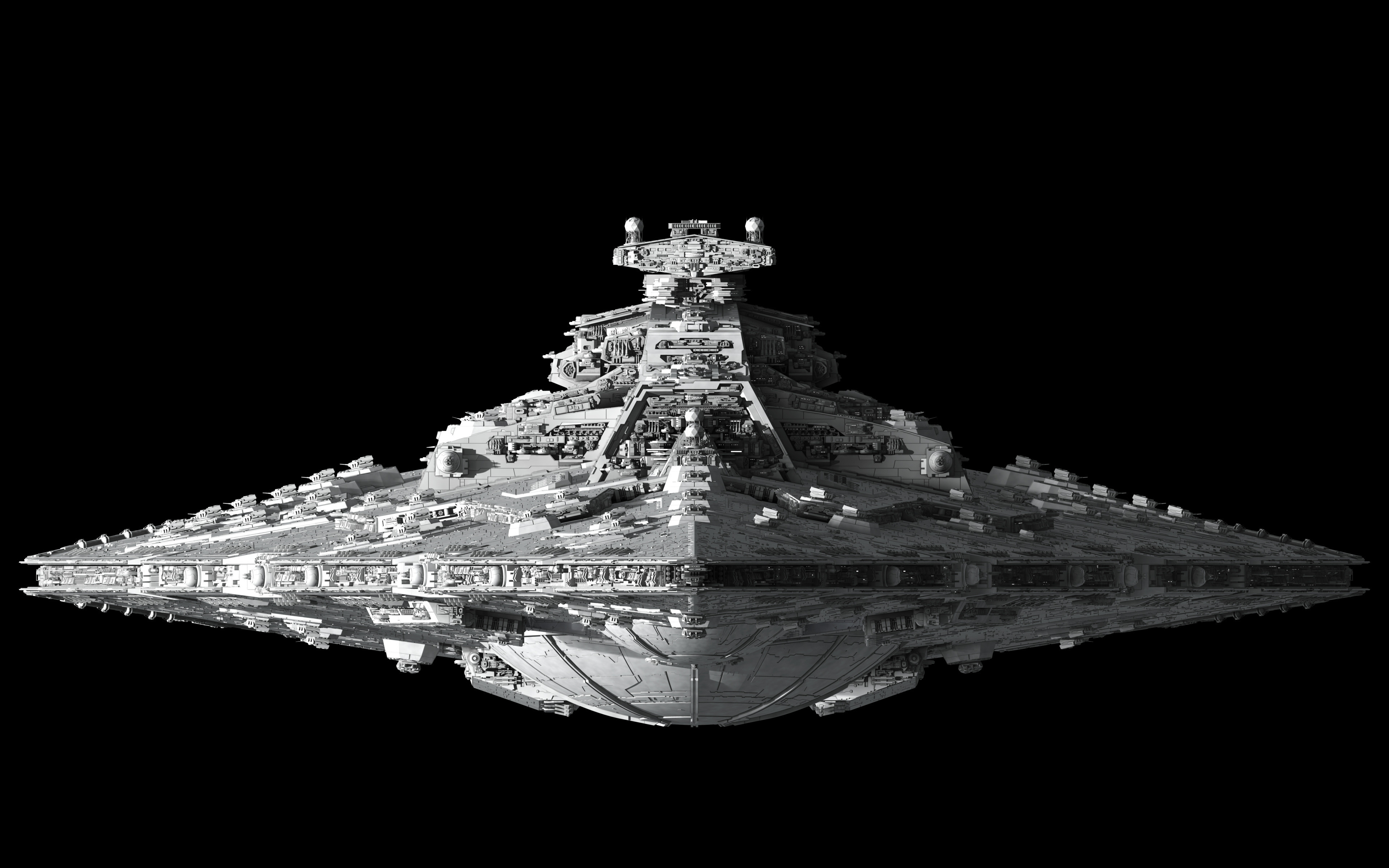 star wars wallpaper,vehicle,black and white,3d modeling