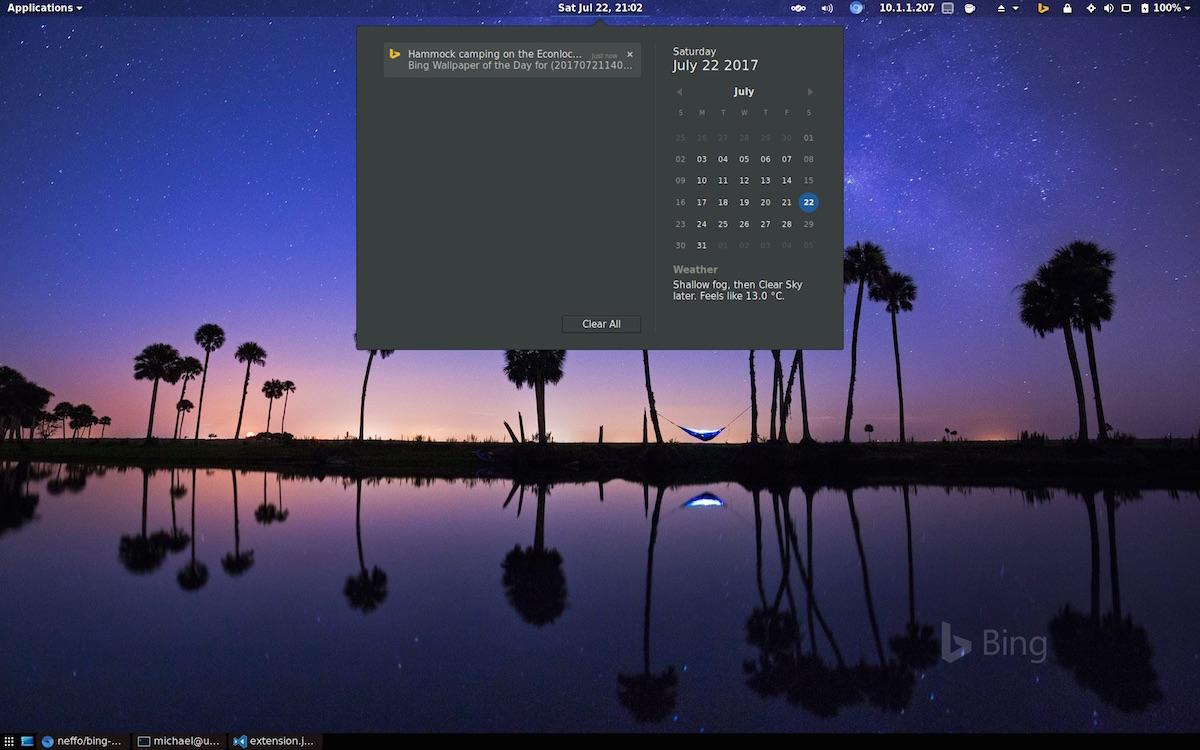 desktop wallpaper,sky,screenshot,technology,palm tree,reflection