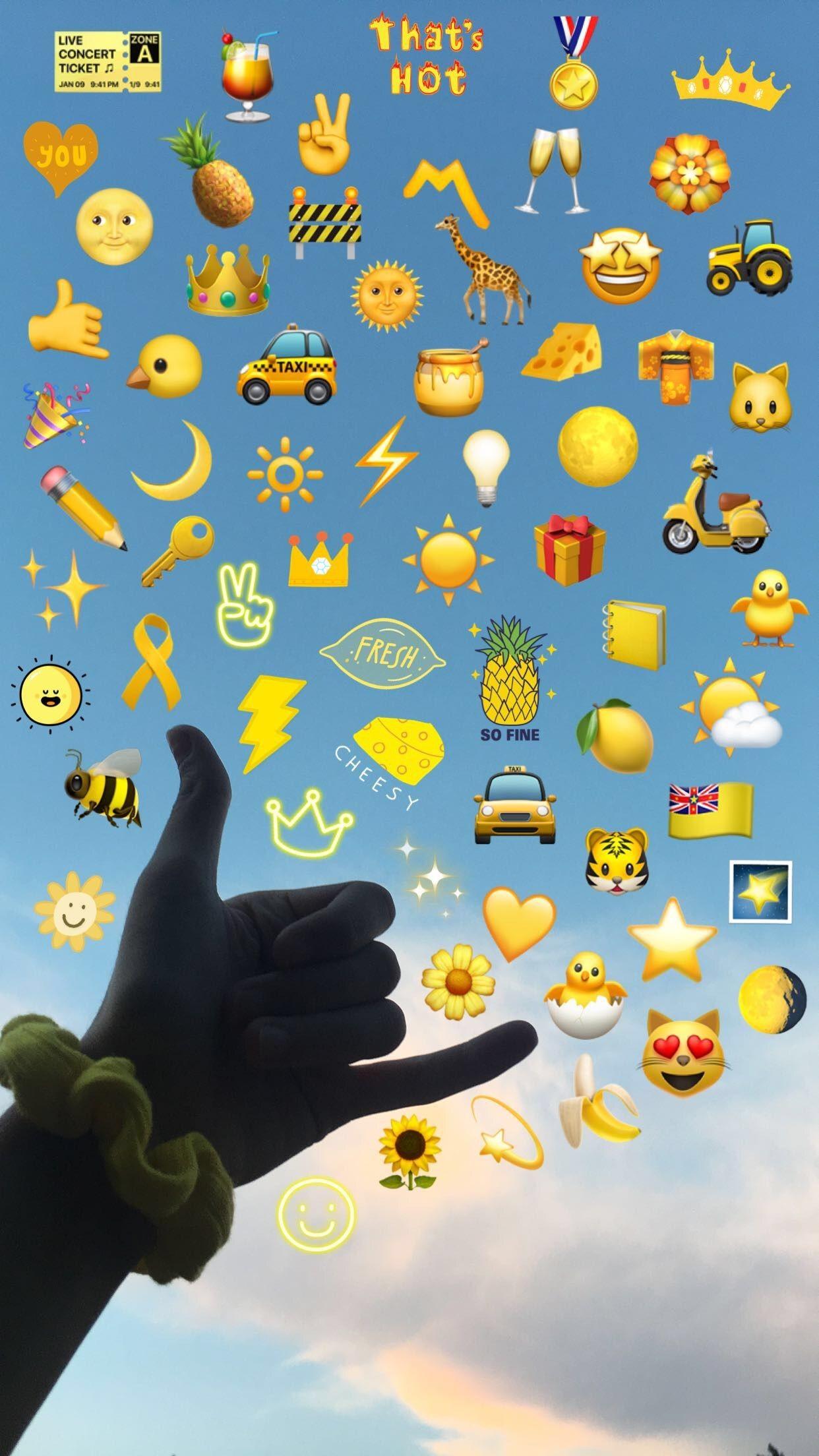 emoji wallpaper,emoticon,smiley,gelb,rosa,symbol 21 ...