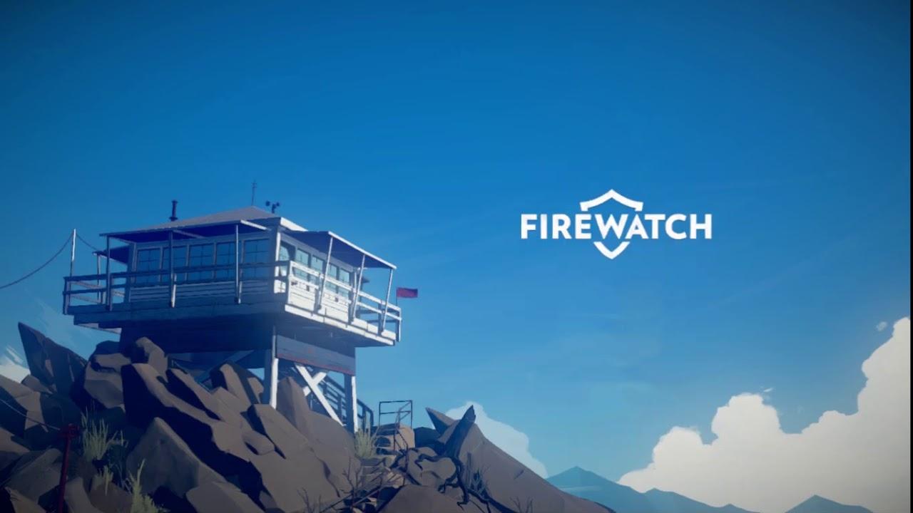 firewatch wallpaper,sky,blue,font,daytime,cloud