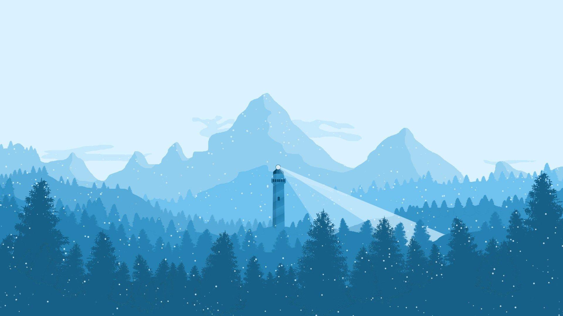 firewatch wallpaper,mountainous landforms,natural landscape,nature,mountain,mountain range