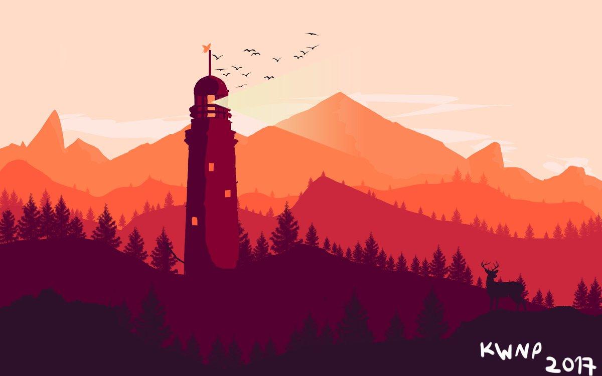 firewatch wallpaper,sky,natural landscape,landmark,mountain,mountain range