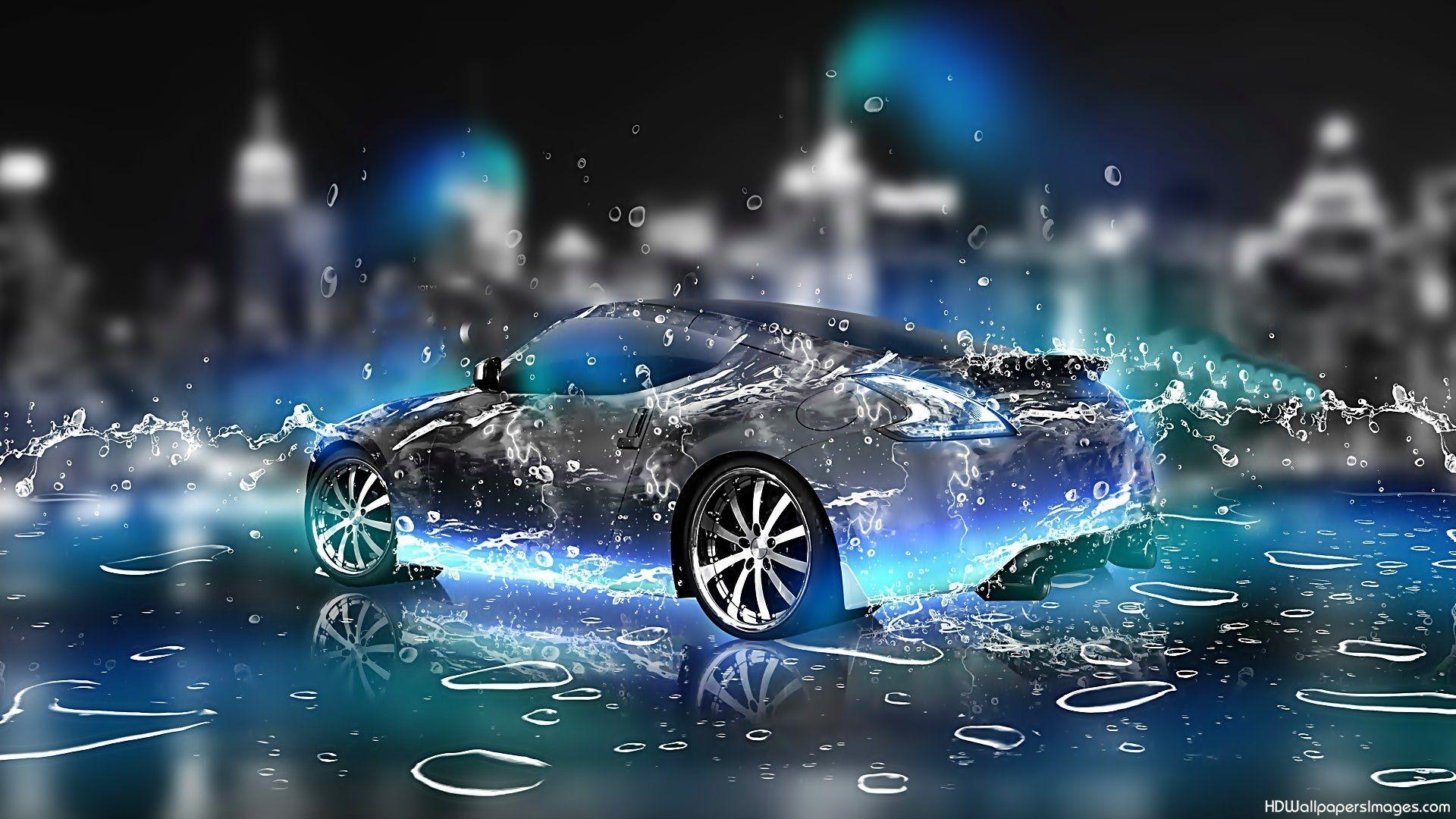 parallax wallpaper,vehicle,car,automotive design,city car,water