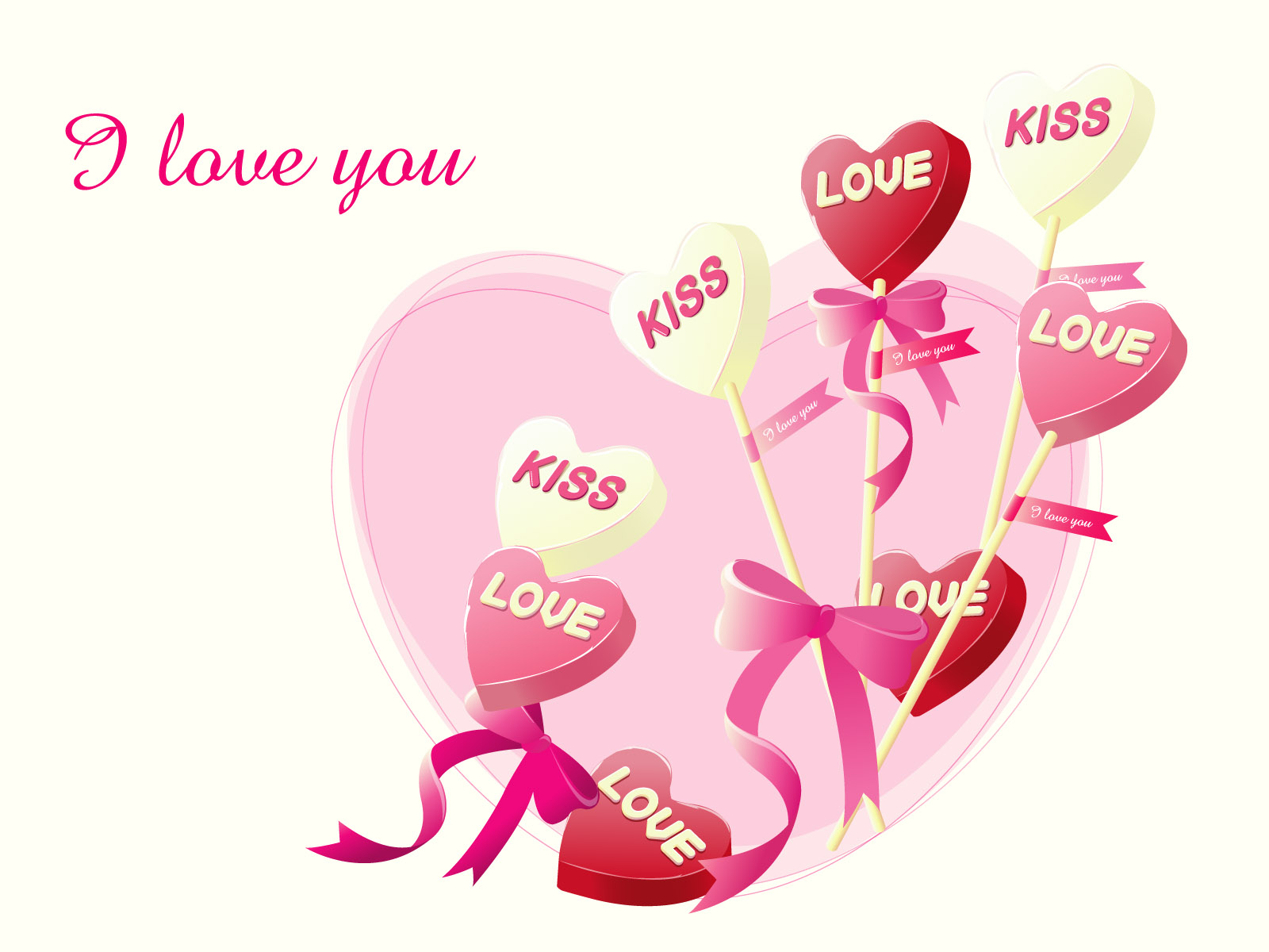i love you wallpaper,heart,love,text,valentine's day,pink
