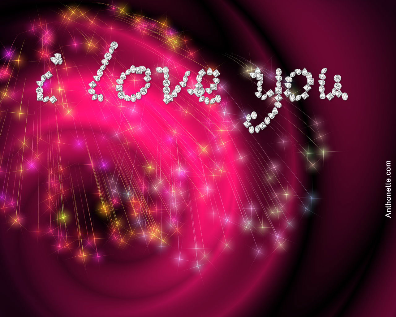 i love you wallpaper,pink,text,red,light,graphic design