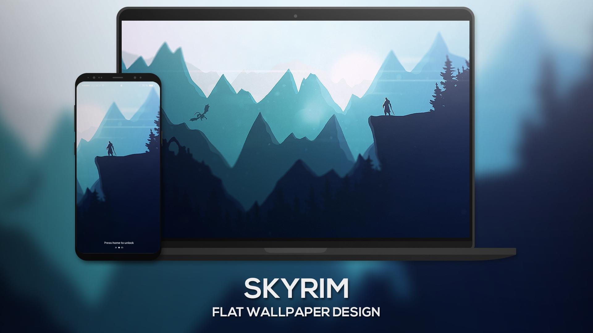 skyrim wallpaper,screen,gadget,technology,sky,electronic device