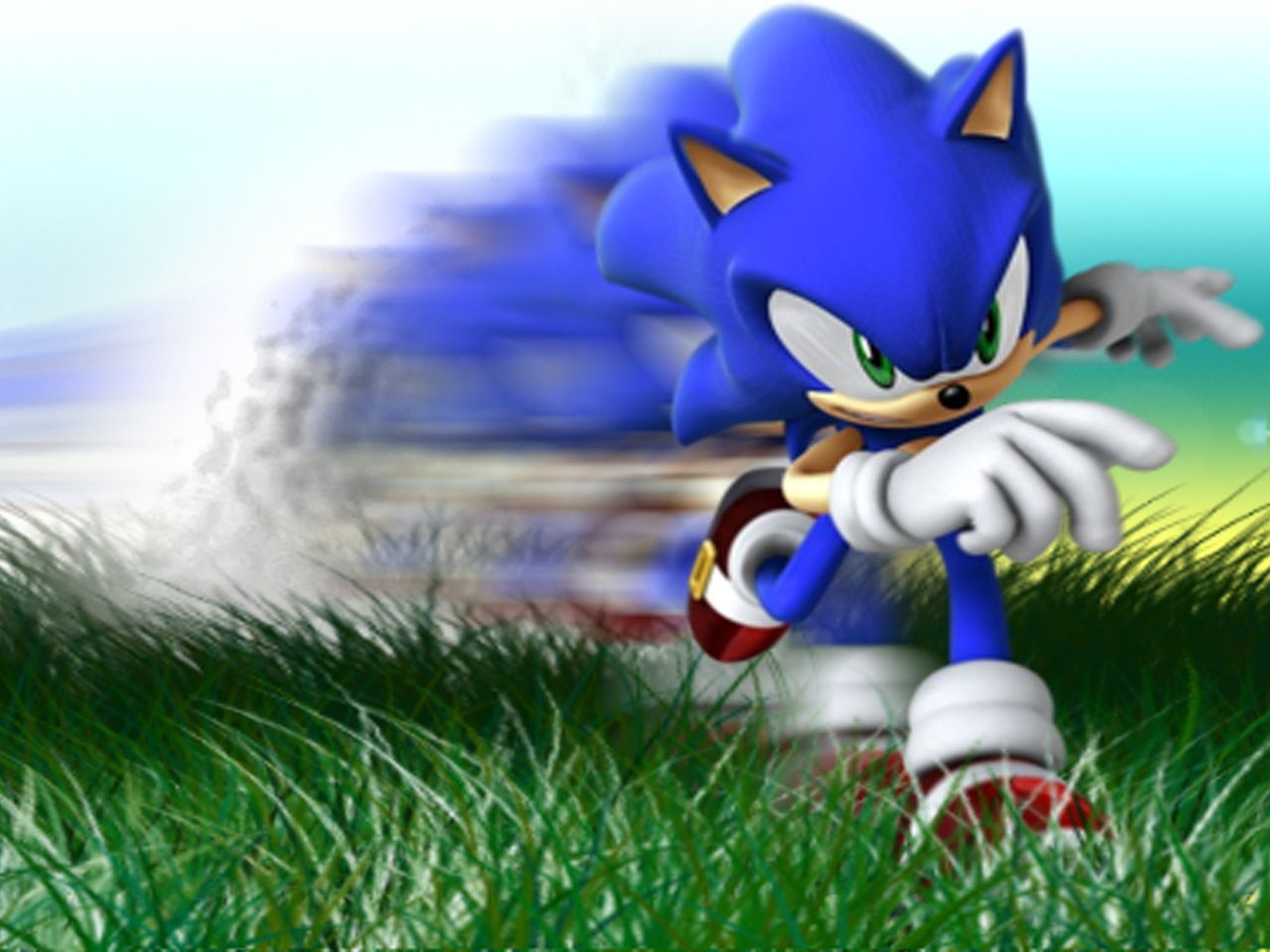 animated wallpaper anime,sonic the hedgehog,cartoon,animated cartoon,fictional character,grass