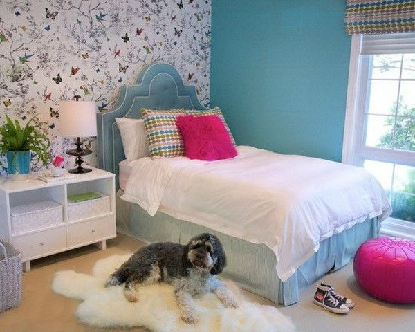 girly wallpapers for bedrooms,bedroom,room,furniture,bed,wall