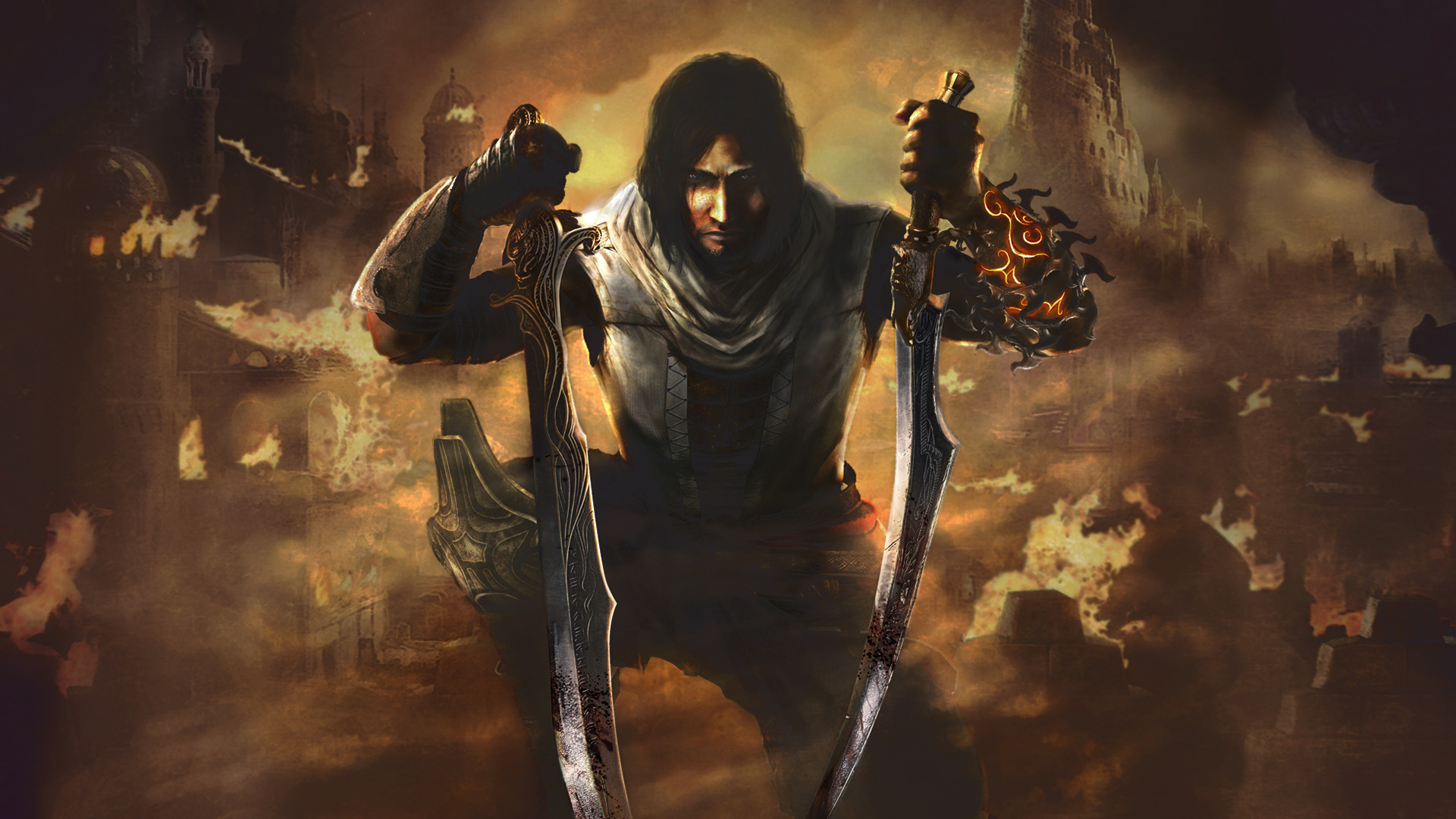 prince of persia hd wallpaper,action adventure game,cg artwork,movie,demon,pc game