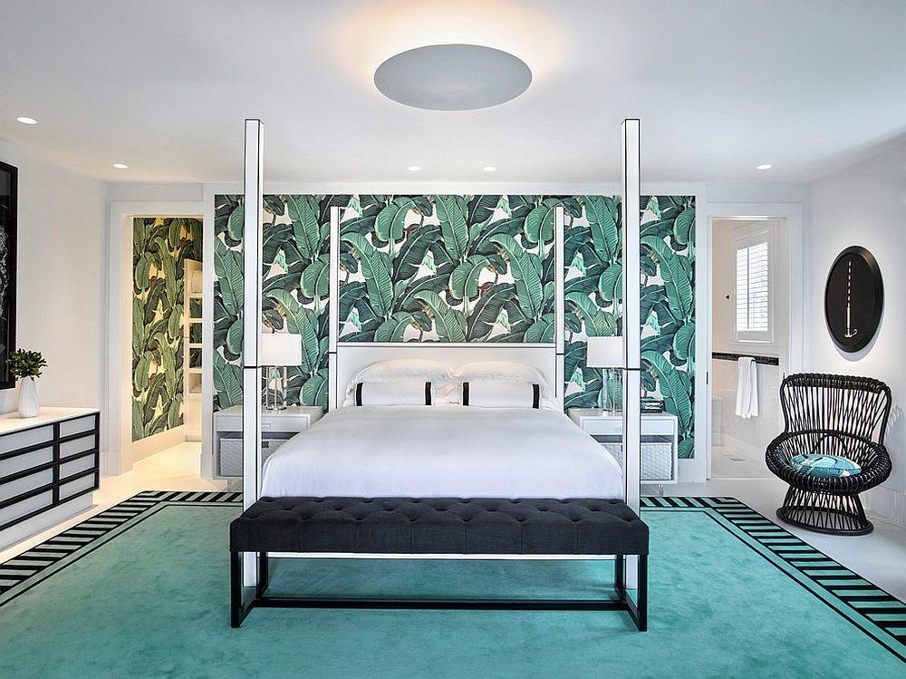 wallpaper for bedroom walls designs,bedroom,furniture,room,interior design,bed frame