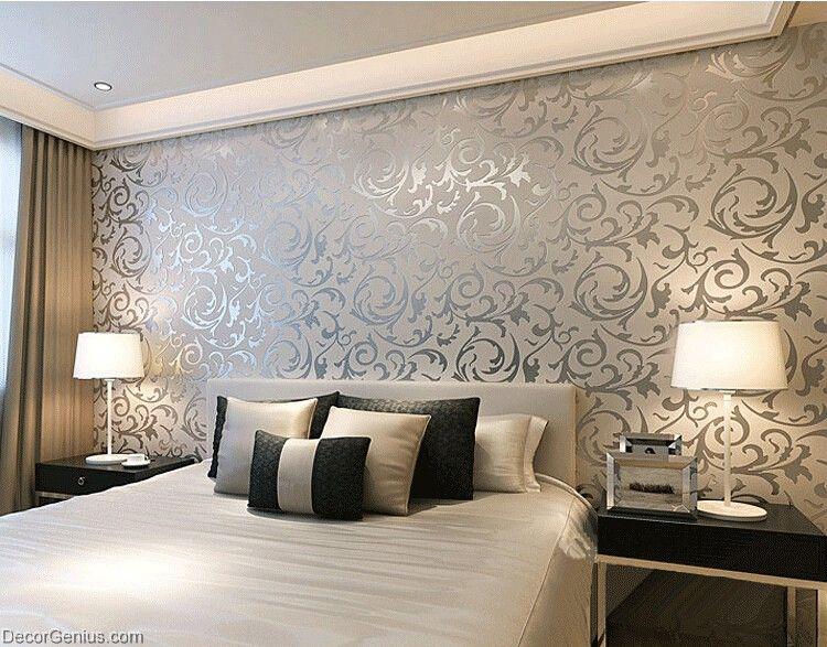 wallpaper for bedroom walls designs,wall,room,interior design,wallpaper,bedroom