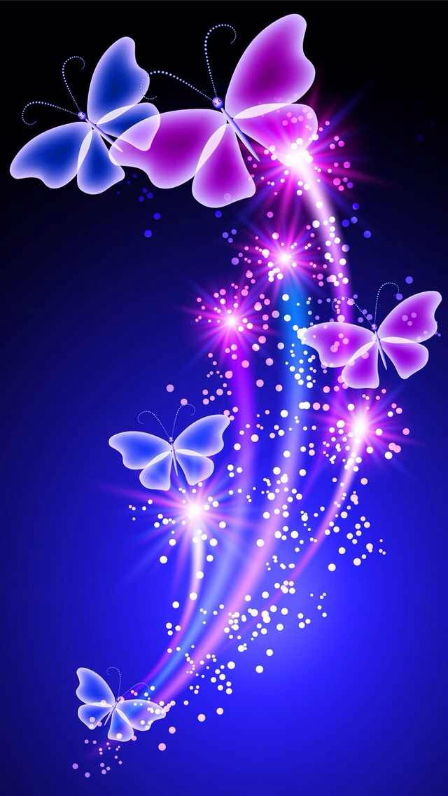 3d Hd Wallpapers For Mobile Free Download Violet Butterfly Purple Graphic Design Moths And Butterflies 113285 Wallpaperuse