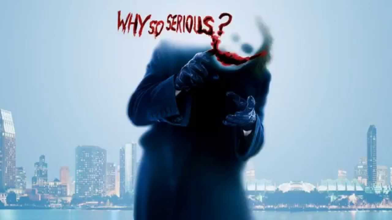 why so serious wallpaper,water,font,photography,happy,fictional character