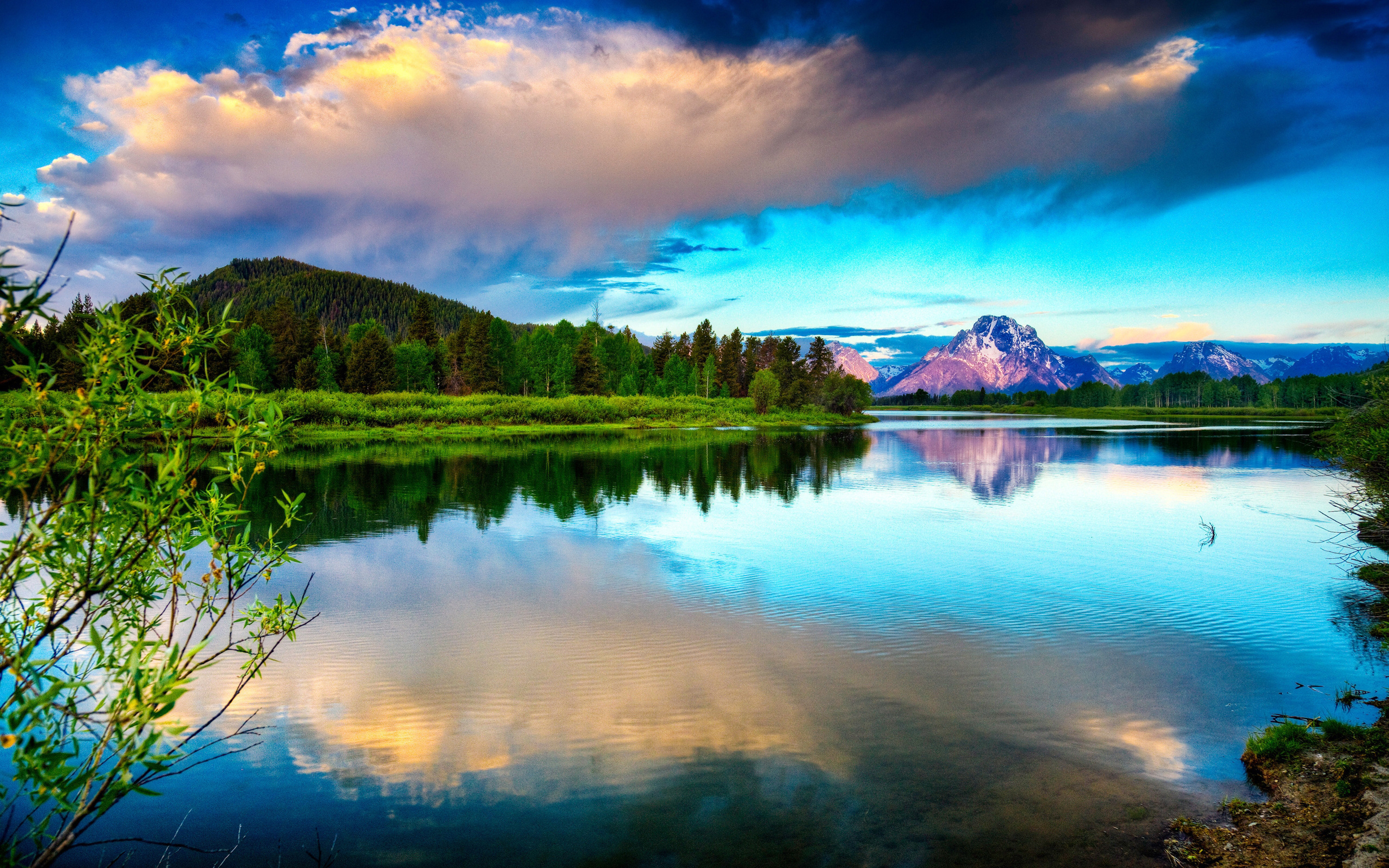 scenery wallpaper hd,sky,nature,natural landscape,reflection,water