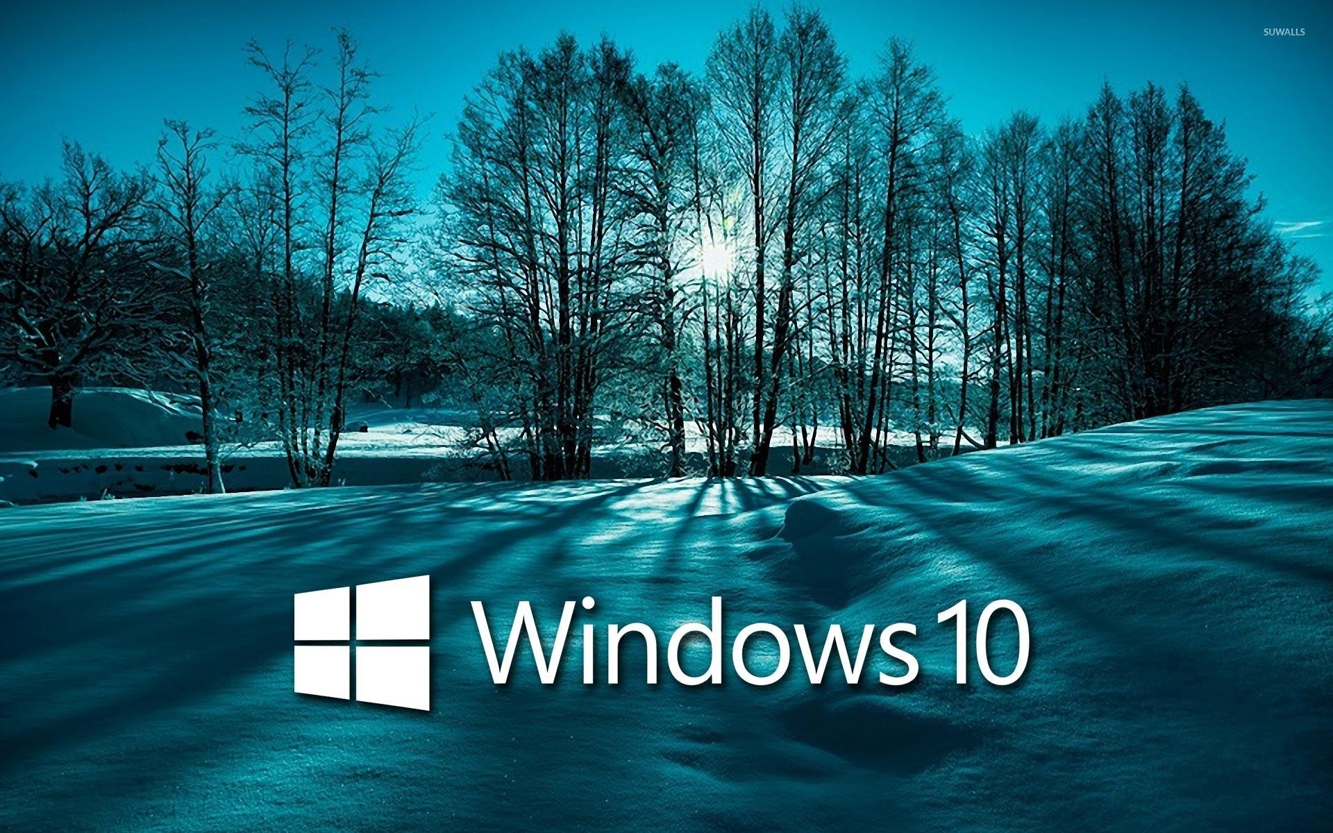 windows 10 wallpaper download,natural landscape,sky,winter,tree,water