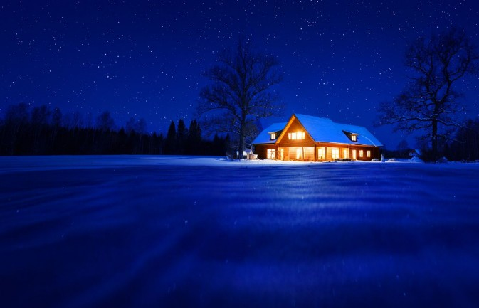 wallpaper for laptop windows 10,sky,blue,winter,snow,night