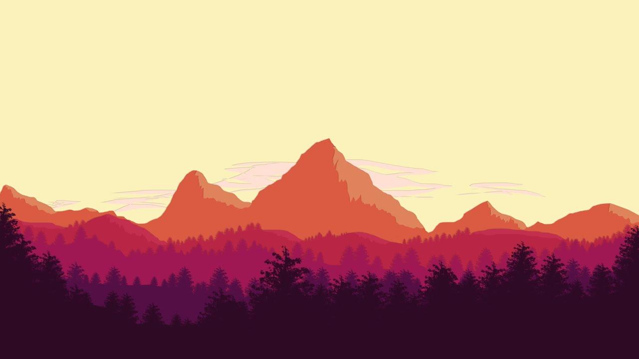 flat design wallpaper,mountainous landforms,sky,mountain,nature,mountain range