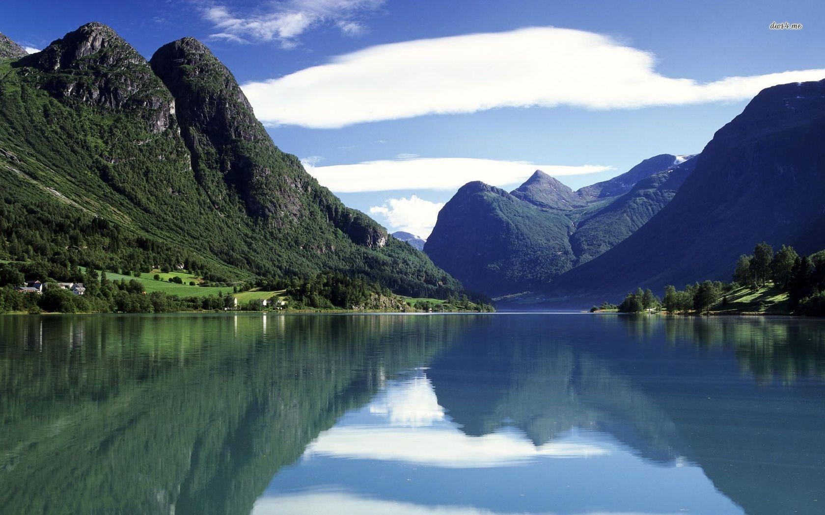 nature photo wallpaper,natural landscape,mountainous landforms,nature,body of water,mountain