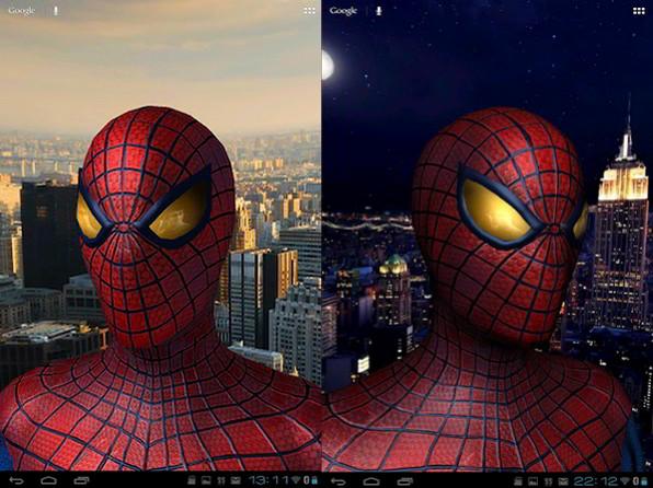 spiderman live wallpaper,spider man,superhero,fictional character,games