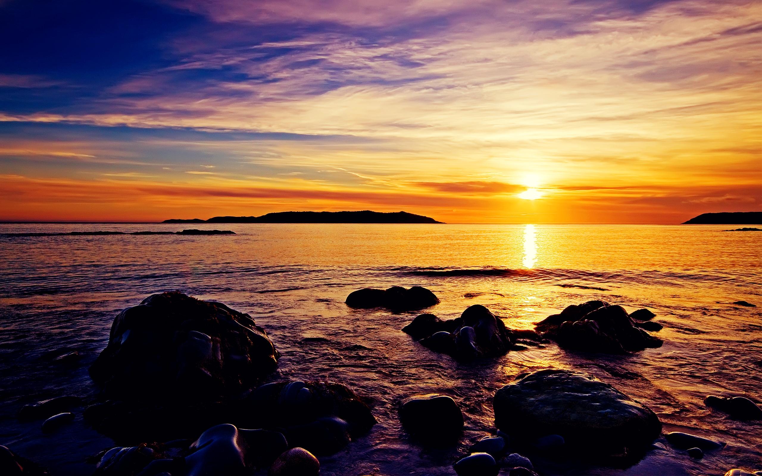 sunrise wallpaper,sky,body of water,horizon,sea,sunset