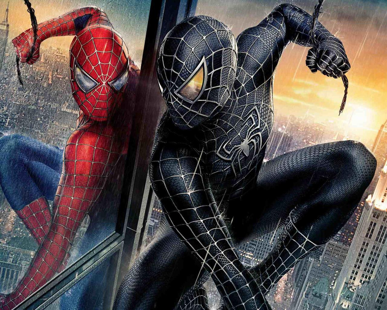 black spiderman wallpaper,spider man,action adventure game,superhero,fictional character,cg artwork