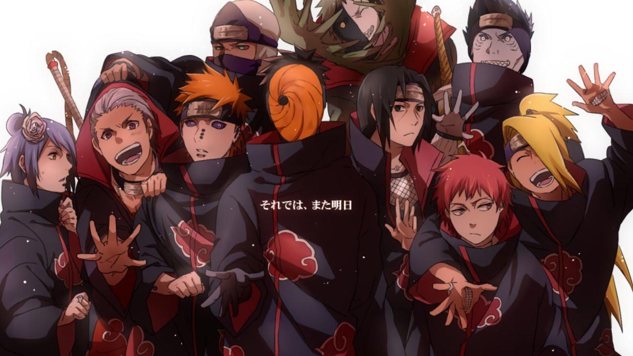 akatsuki wallpaper,anime,team,community,cartoon,naruto