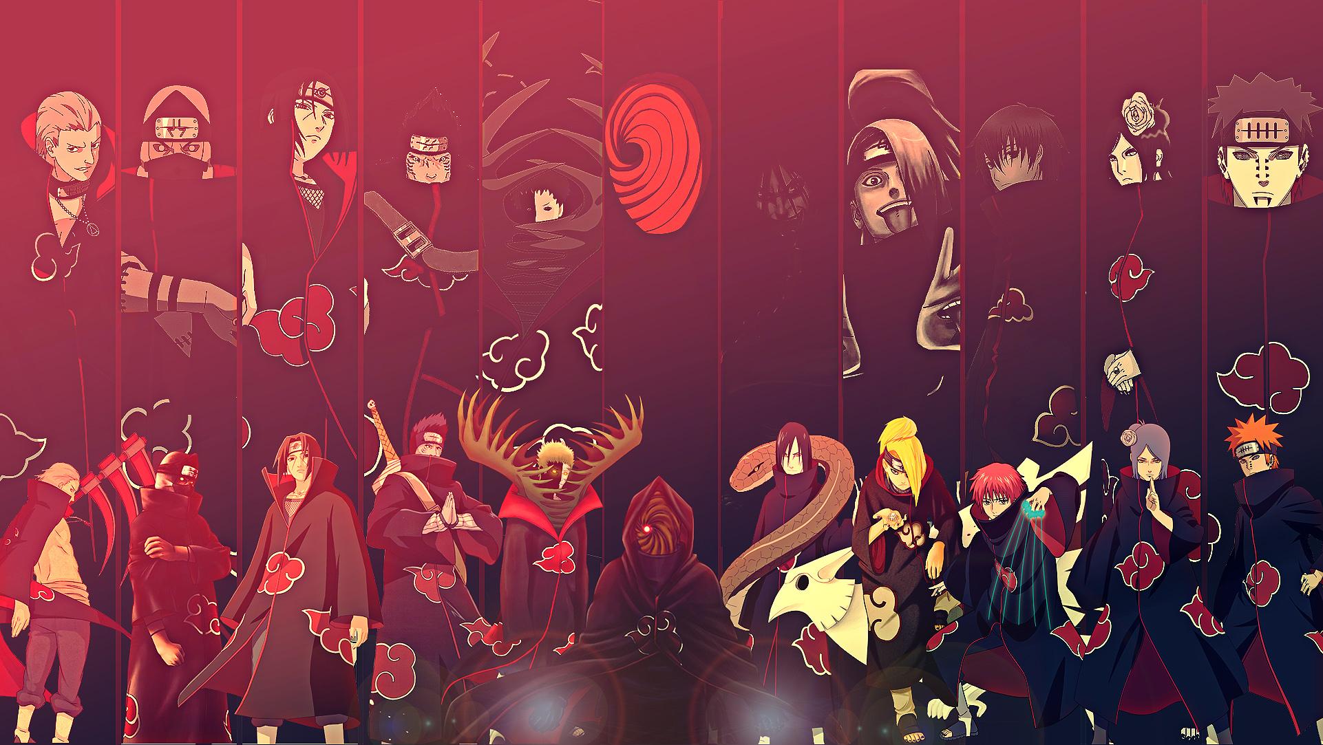 akatsuki wallpaper,red,font,event,art,performance