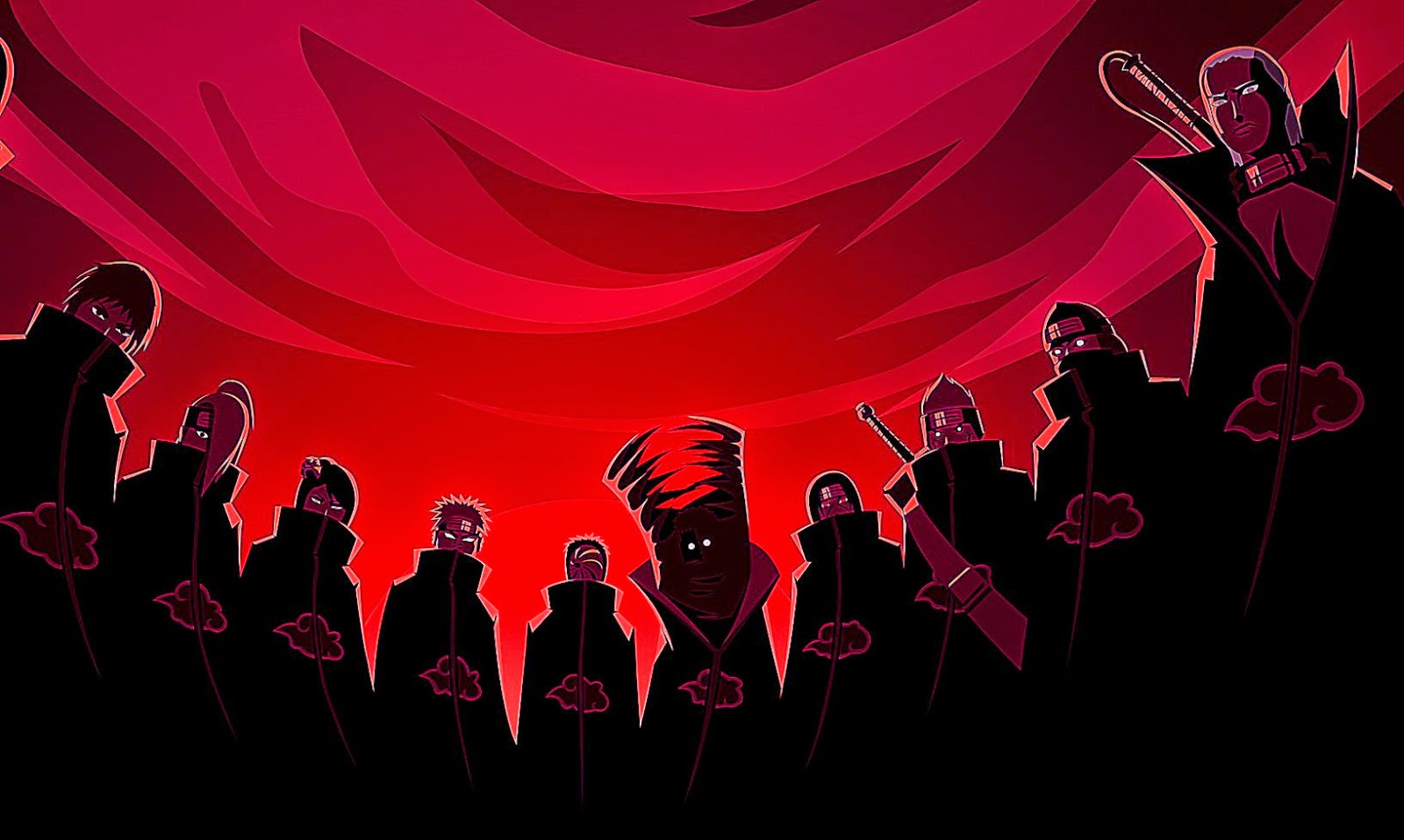 akatsuki wallpaper,red,event,font,crowd,stage