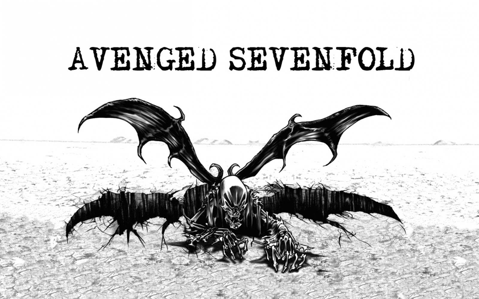 avenged sevenfold wallpaper,fictional character,wing,bat,claw,vulture