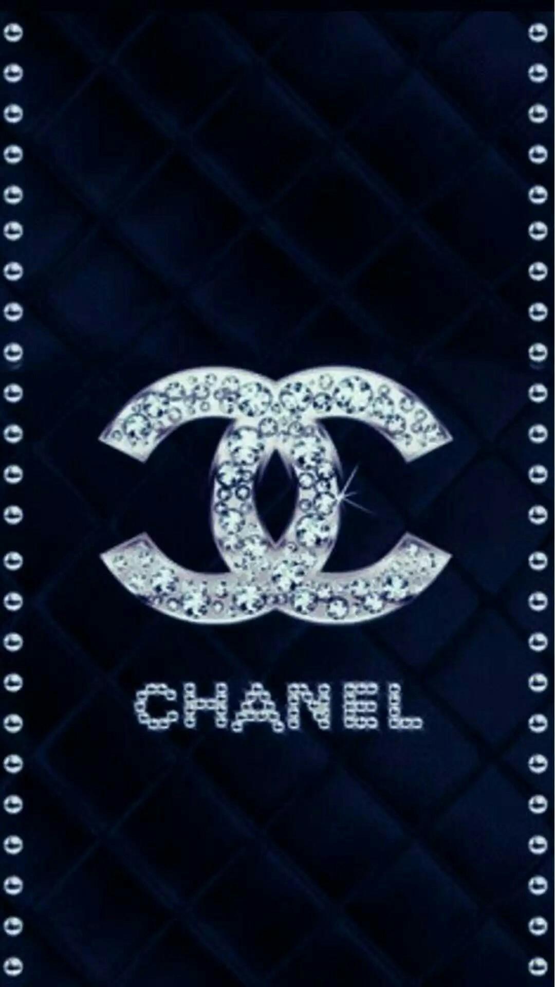 chanel wallpaper,font,symbol,spiral,number,pattern