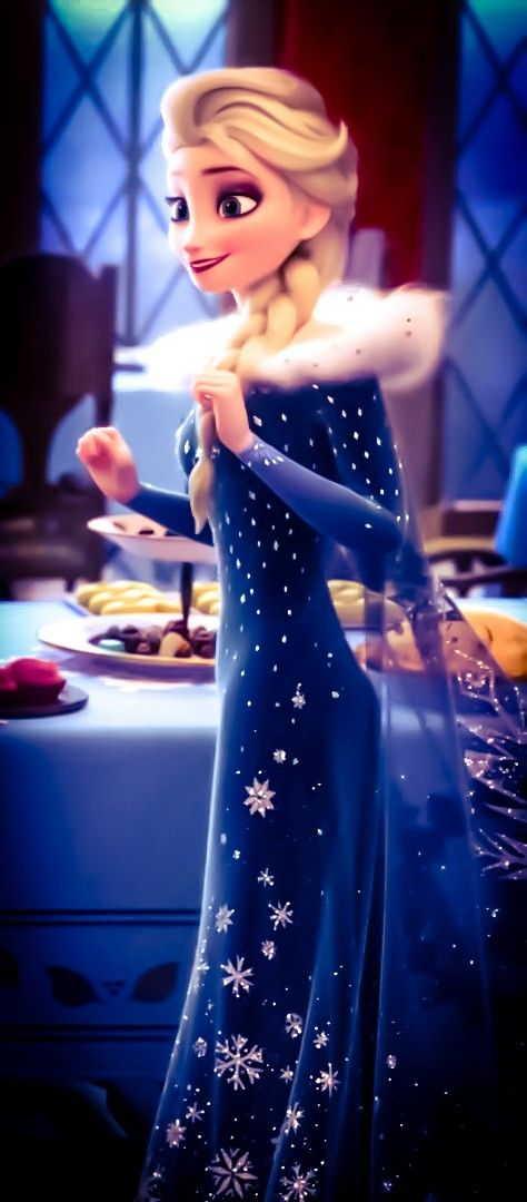 elsa and anna wallpapers,dress,blue,formal wear,clothing,gown