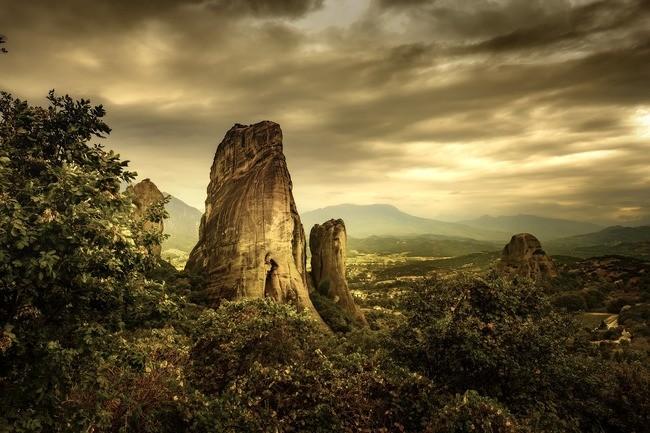 nihilism wallpaper,nature,natural landscape,sky,rock,cloud