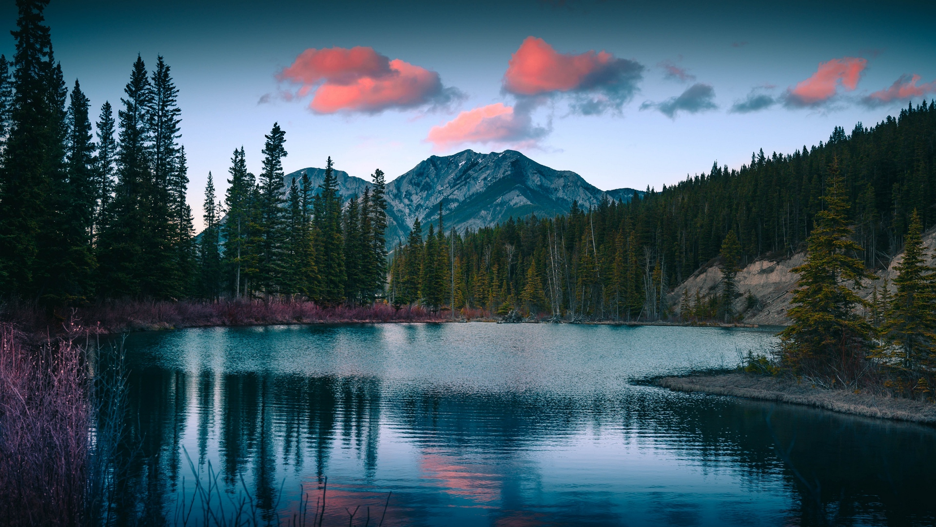 nature wallpaper full hd,nature,reflection,natural landscape,sky,mountain