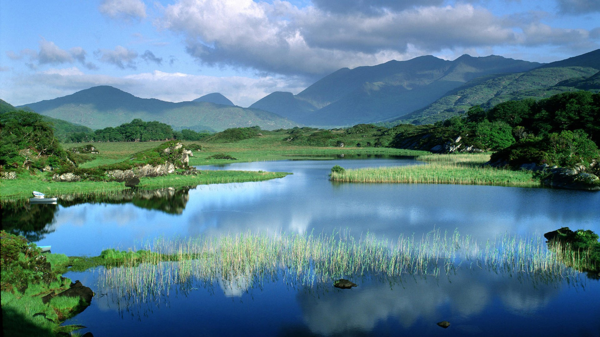 nature wallpaper full hd,natural landscape,nature,water resources,body of water,reflection