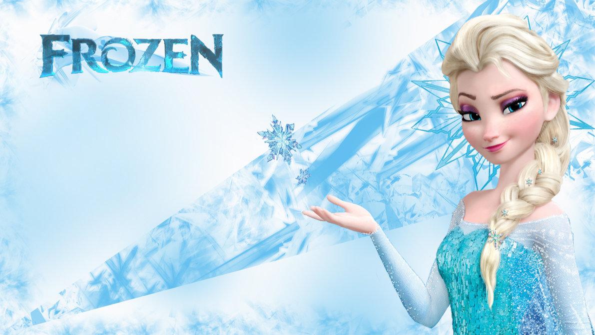 frozen wallpaper,beauty,cg artwork,doll,sky,snow