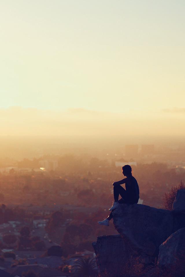 alone wallpaper,sky,atmospheric phenomenon,horizon,morning,cloud