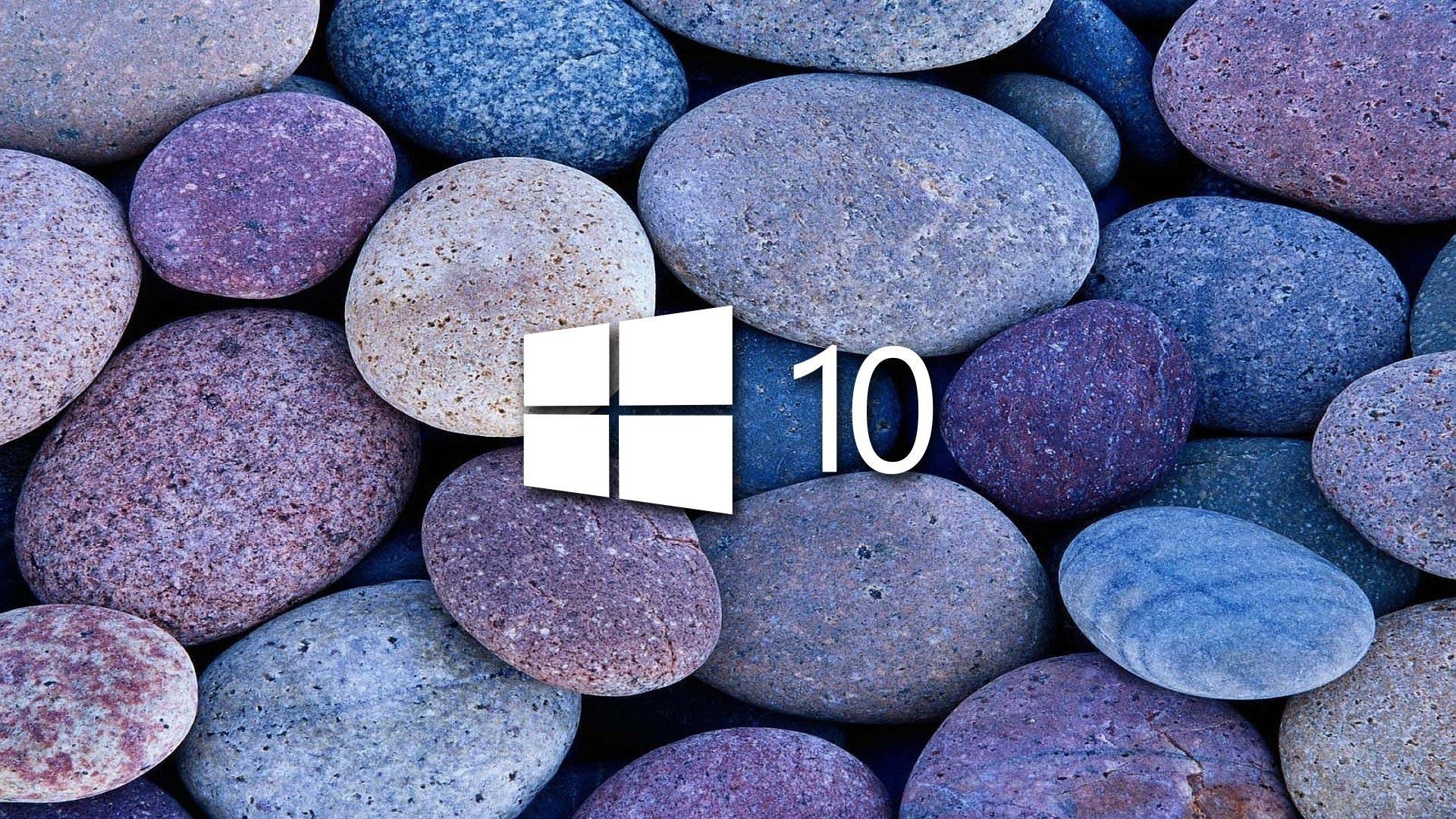 windows 10 wallpaper hd,pebble,rock,gravel,cobblestone,granite