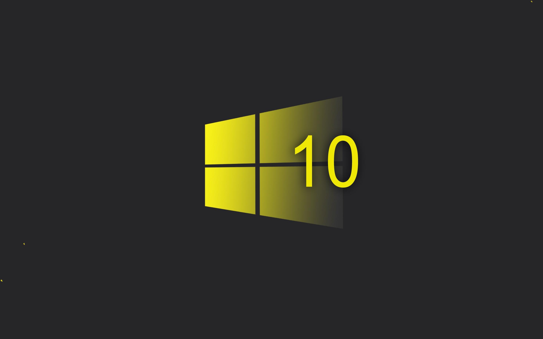 windows 10 wallpaper hd,yellow,text,logo,font,graphics