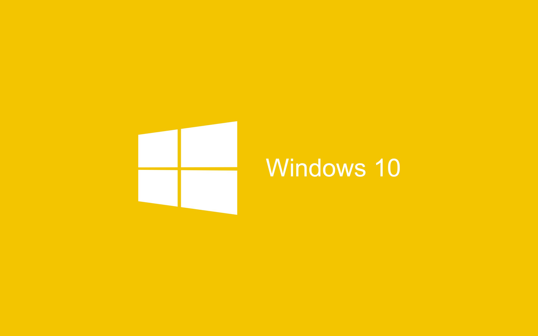 windows 10 wallpaper hd,yellow,text,logo,font,line