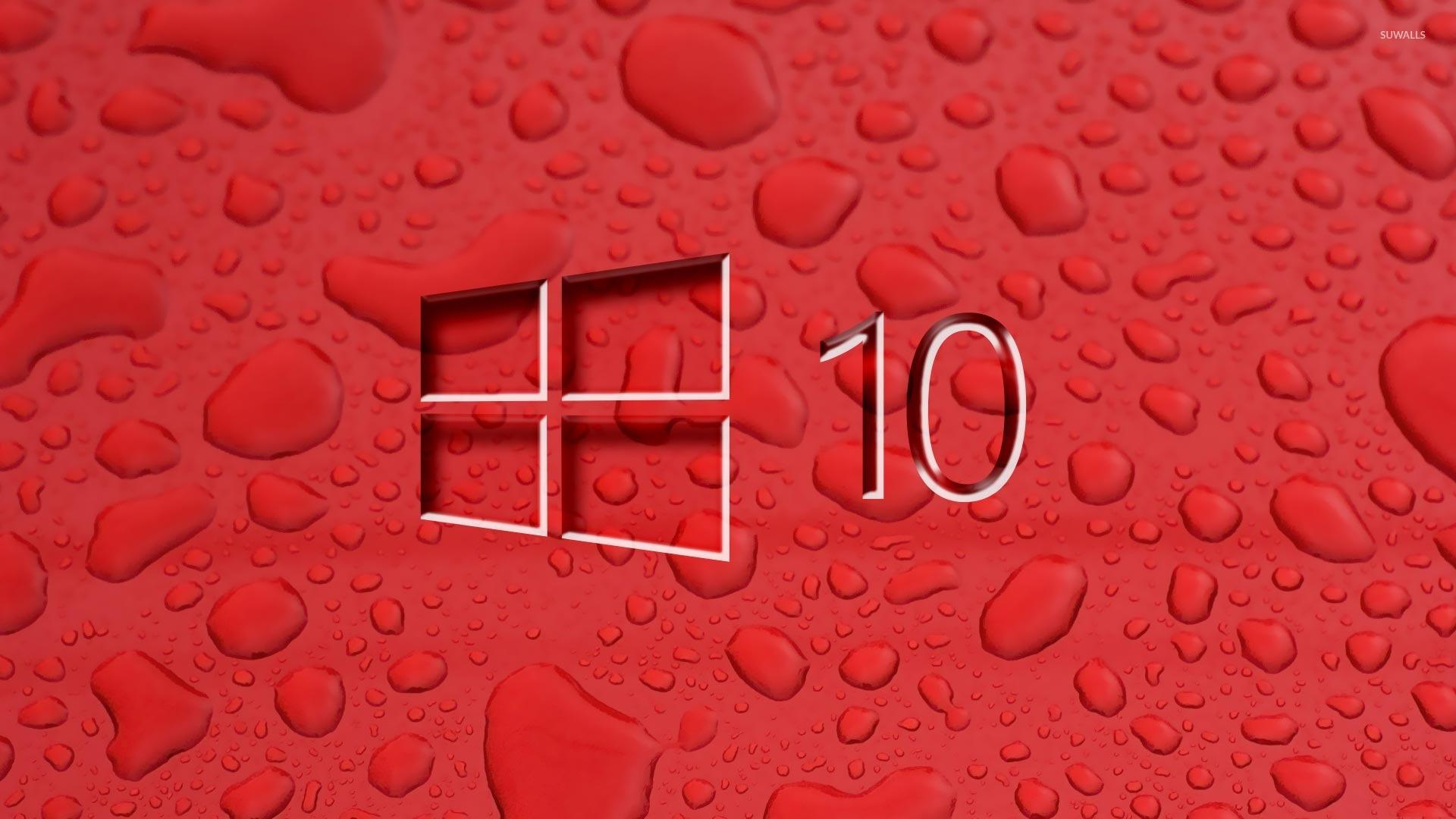 windows 10 wallpaper hd,red,water,font,pattern,carmine