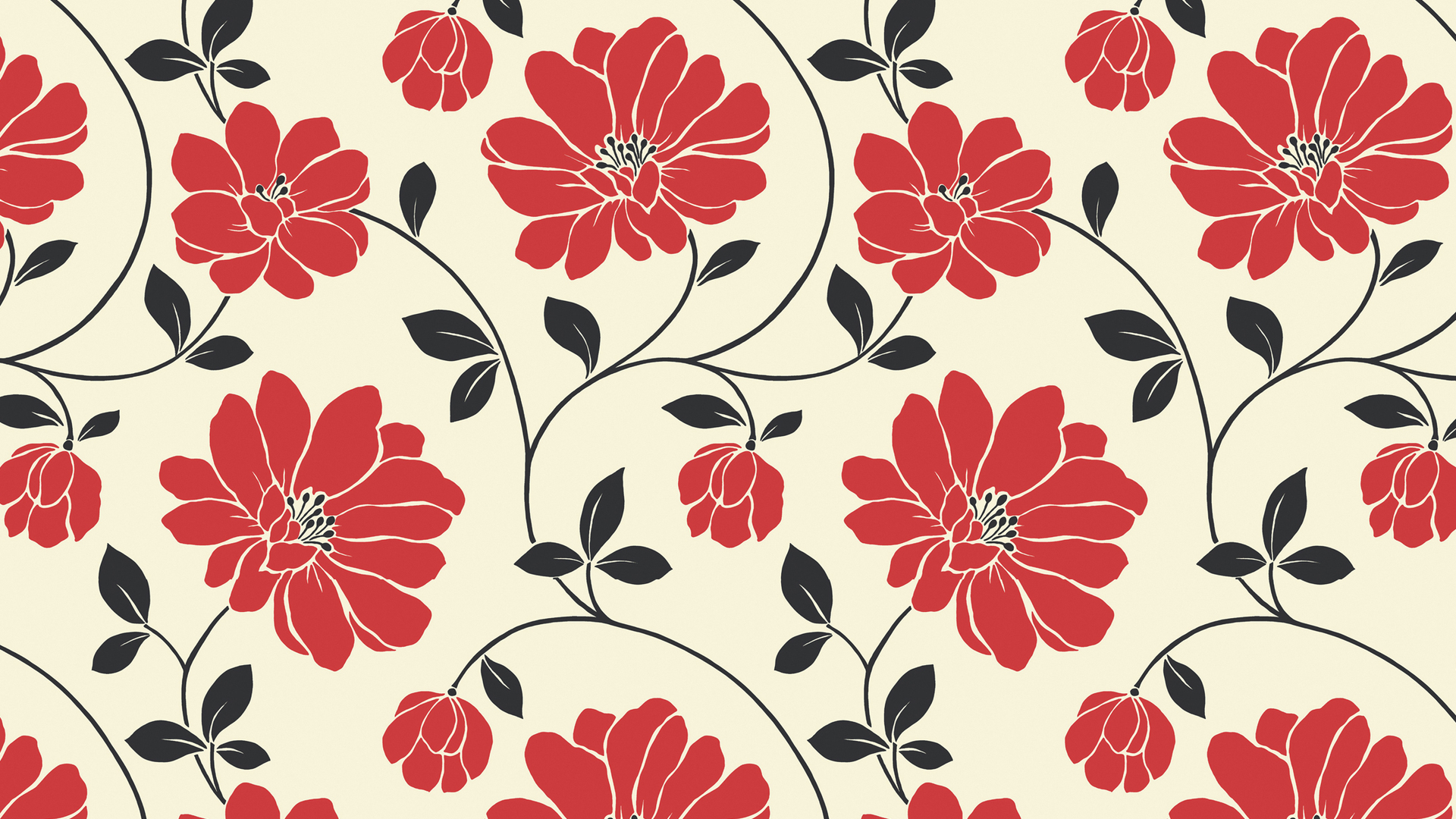desktop wallpaper tumblr,pattern,red,floral design,leaf,botany