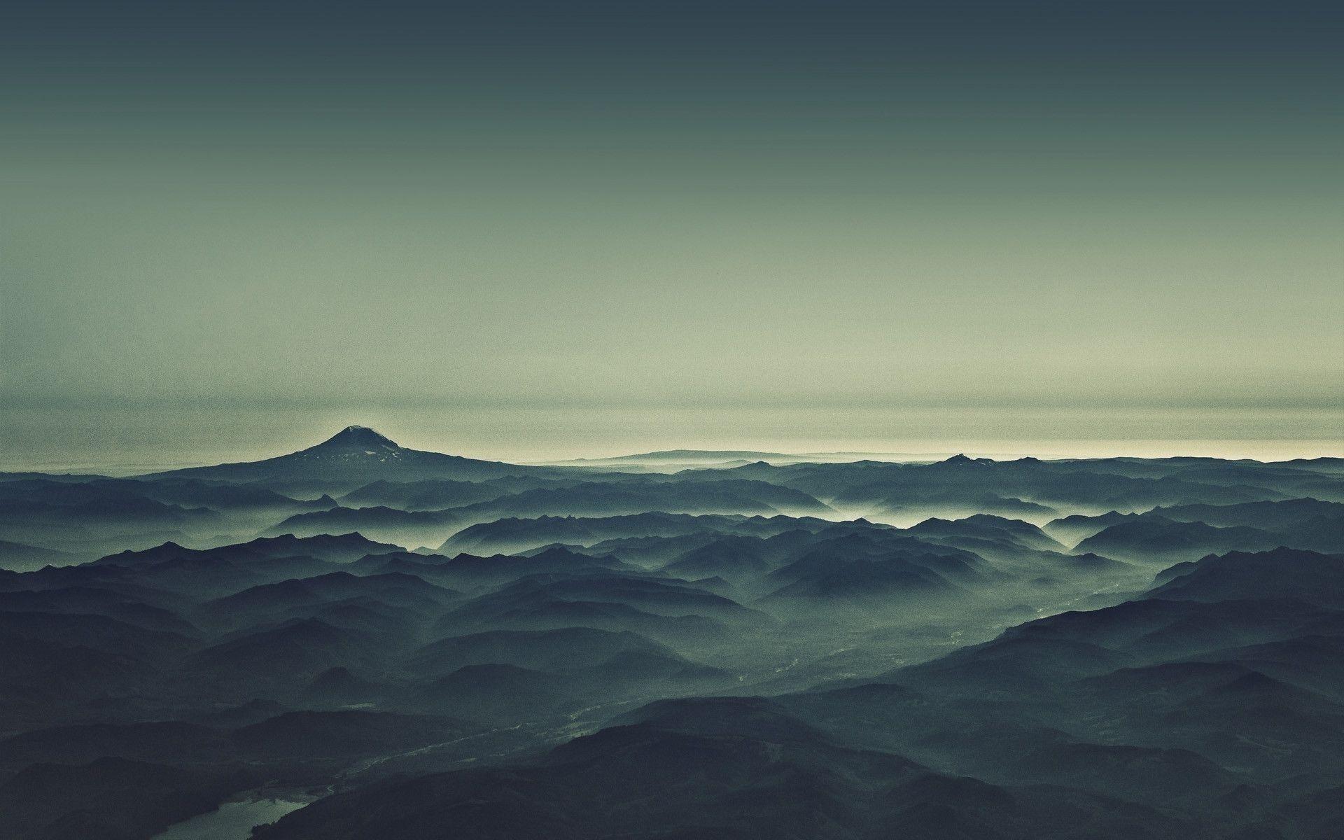 desktop wallpaper tumblr,sky,blue,mountainous landforms,horizon,mountain