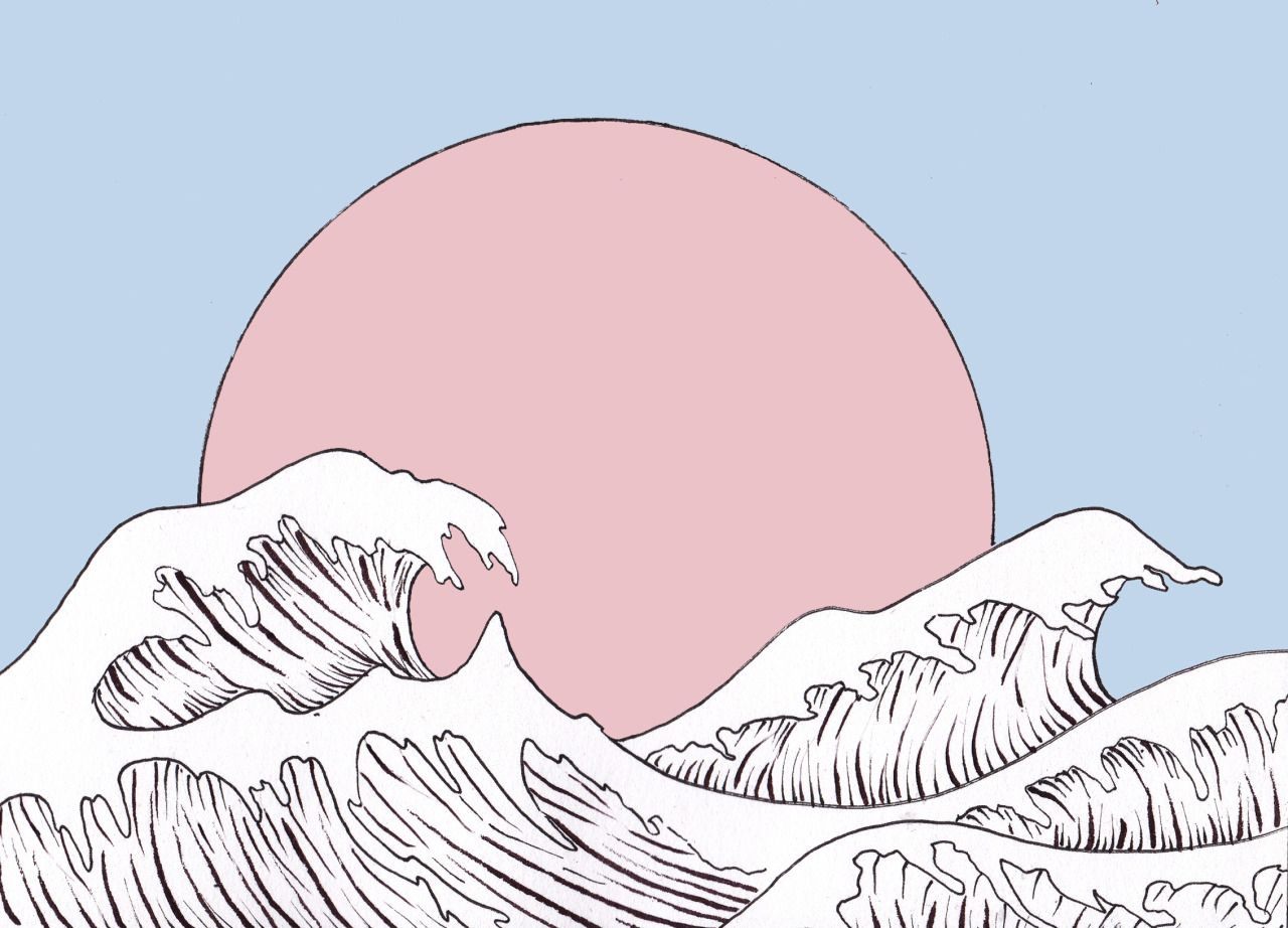 desktop wallpaper tumblr,walrus,cartoon,illustration,organism,marine mammal