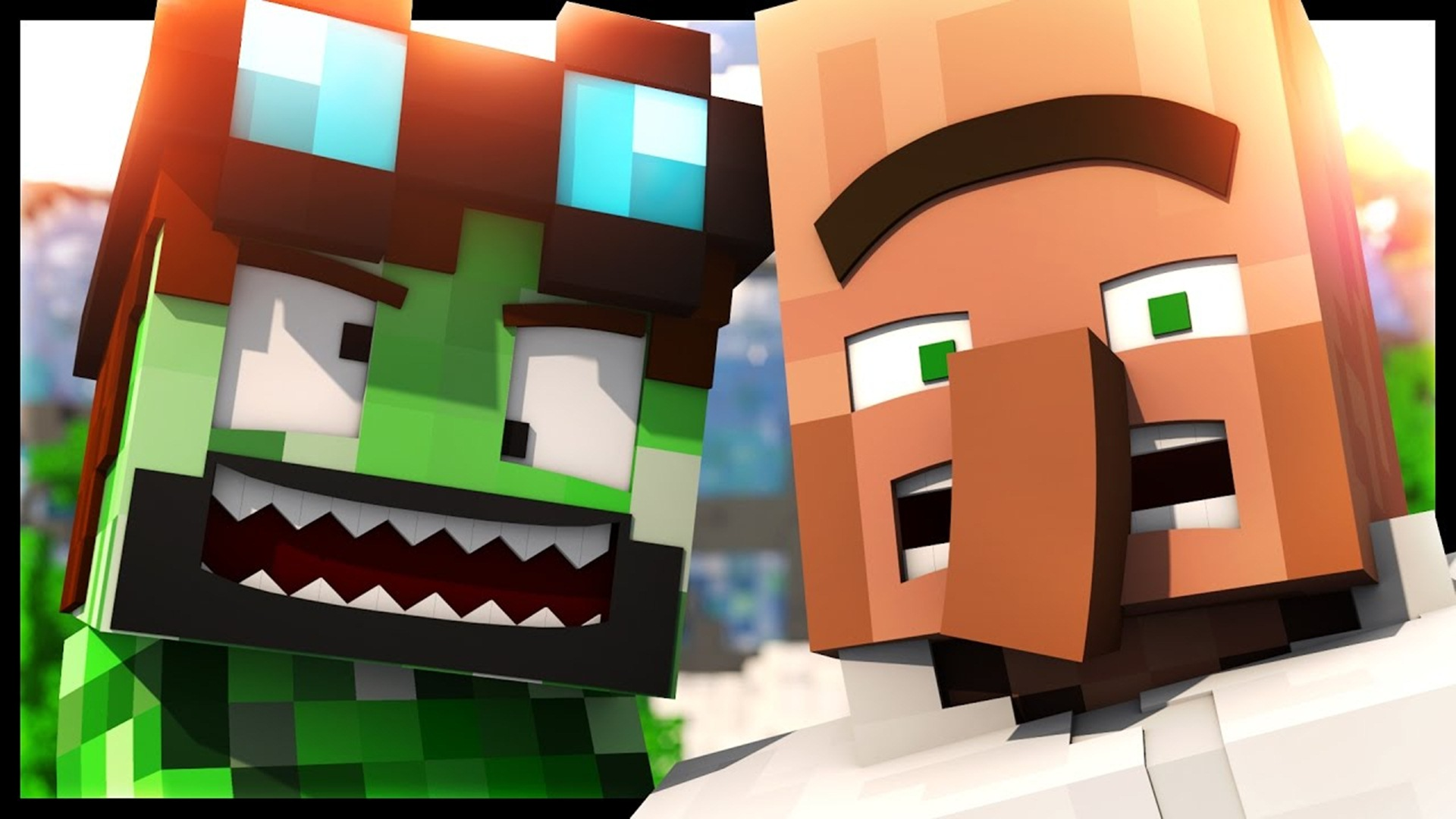 minecraft wallpaper,video game software,animation,minecraft,fictional character,games